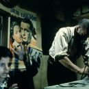 Salvatore Cascio and Philippe Noiret in Miramax's Cinema Paradiso - 1989