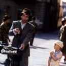 Academy Award winner Roberto Benigni and Giorgio Cantarini in Life Is Beautiful - 235 x 350