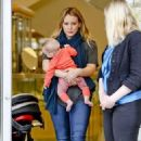Hilary Duff: shopping trip to Neiman Marcus in Beverly Hills