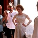 Istvan Szabo directs Jennifer Ehle and Ralph Fiennes on the set of Paramount Classics' Sunshine - 2000