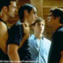 Will Sanderson, Martin Starr, Trevor Fehrman and Matthew Lawrence in New Line's Cheaters - 2001 - 400 x 268