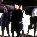 Mekhi Phifer, Gary Sinise, Madeleine Stowe and Vincent D'Onofrio in Dimension's Impostor - 2002