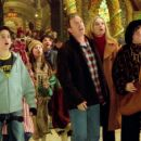 Eric Lloyd, Tim Allen, Elizabeth Mitchell and David Krumholtz in Disney's The Santa Clause 2 - 2002
