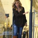 Daisy Fuentes out shopping at Barneys New York in Beverly Hills, California on December 20, 2014 - 409 x 594