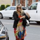 Molly Sims Out & About in Beverly Hills