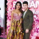 Priyanka Chopra and Nick Jonas : Premiere Of Warner Bros. Pictures' 'Isn't It Romantic - 400 x 600