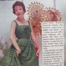 Nanette Fabray - TV Guide Magazine Pictorial [United States] (14 November 1959) - 454 x 716