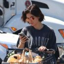 Lucy Hale – Shopping at Ralph's in Los Angeles