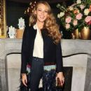 Blake Lively Bright Lights Paris Book Launch In Nyc
