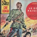 And Quiet Flows the Don - Star Ciné Roman Magazine Cover [France] (15 November 1963)