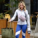 Gemma Merna – Arriving at a Yoga Class in Manchester - 454 x 688