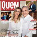 Roberto Justus and Ana Paula Siebert
