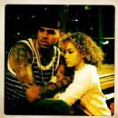 Jasmine Sanders and Chris Brown - 454 x 454