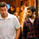 Adam Sandler with Aziz Ansari play as George and Randy in Funny People