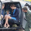 The Duke & Duchess of Cambridge Visit the Royal International Air Tattoo - 454 x 316