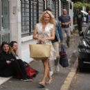 Pamela Anderson – Arriving at Strictly Come Dancing in Paris