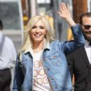 Gwen Stefani – Arriving at Jimmy Kimmel Live! in LA