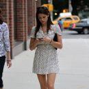Ashley Greene was spotted walking around New York City yesterday, September 10
