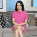 Lucy Hale – Visits People Now in New York