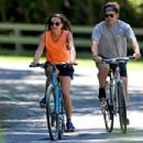 Lea Michele – Bike Riding in The Hamptons - 454 x 303