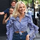 Pixie Lott in Shorts at Roar Group and Ivy Club Lunch in London - 454 x 592