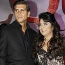 Victoria Ruffo and Christian Meier