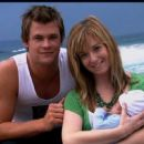 Chris Hemsworth and Amy Mizzi