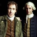 Rob Brydon as Toby Shandy and Steve Coogan as Tristram Shandy/Walter Shandy in A Cock and Bull Story 2006.
