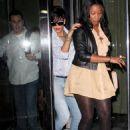 Rihanna - Leaving Her Manhattan Hotel, 17. 6. 2009.