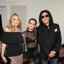 Shannon Tweed, Sophie Simmons & Gene Simmons attend