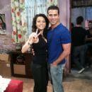 Angelique Boyer and Alejandro Nones
