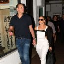 Jennifer Lopez – Out to Dinner with Alex Rodriguez in Miami