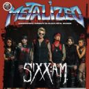 Sixx:am - Metalized Magazine Cover [Denmark] (April 2016)