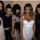 Blac Chyna, Kim Kardahian, Khloe Kardashian, Naya Rivera