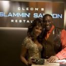 Vivica A. Fox and Michael Clarke Duncan stars in Kevin Heffernan comedy 'The Slammin' Salmon.'