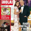 Isabel Preysler and Mario Vargas Llosa - Hola! Magazine Cover [Peru] (6 July 2016)
