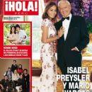 Isabel Preysler and Mario Vargas Llosa - Hola! Magazine Cover [Peru] (6 July 2016)