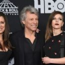 Jon Bon Jovi and family attend the 33rd Annual Rock & Roll Hall of Fame Induction Ceremony at Public Auditorium on April 14, 2018 in Cleveland, Ohio - 454 x 339