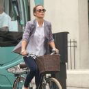 Pippa Middleton – Goes for a bike ride on her 34th birthday in London - 454 x 681