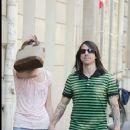Anthony Kiedis and Nika (Model) - 363 x 500