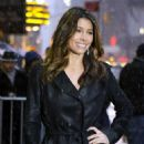 Jessica Biel - Visit The Late Show With David Letterman, 10 February 2010