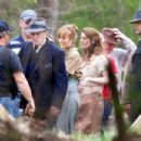 Ashley Greene On The Set Of In Dubious Battle In Atlanta