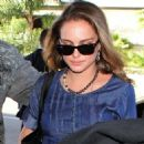 Natalie Portman at LAX, February 7, 2011