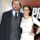 Simon Pegg and Maureen McCann - 399 x 594