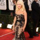Christina Aguilera At The 68th Annual Golden Globe Awards (2011)