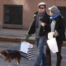 Sebastian Stan and Margarita Levieva stopped for a kiss while shopping in New York City on Sunday - 454 x 497