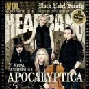 Eicca Toppinen, Paavo Lötjönen, Perttu Kivilaakso, Mikko Sirén - Headbang Magazine Cover [Turkey] (October 2010)