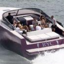Kourtney Kardashian Takes a Boat Ride With Her Family in Miami - July 3, 2016 - 454 x 280