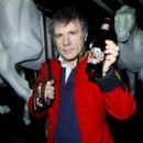 Bruce Dickinson of Iron Maiden launches a new beer named 'Trooper', brewed by Robinsons family brewer in Stockport, at National Army Museum on March 12, 2013 in London, England - 395 x 594