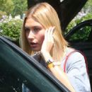 Hailey Baldwin – Attends Day 2 of the Zoe Church Conference in LA
